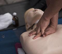 Оказание первой помощи. Архивное фото
