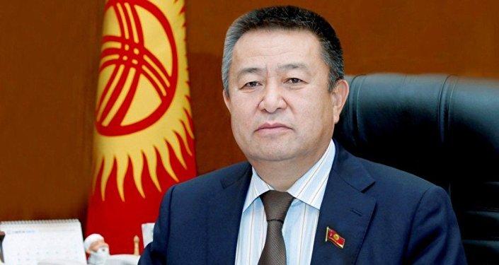 Спикер Жогорку Кенеша Чыныбай Турсунбеков