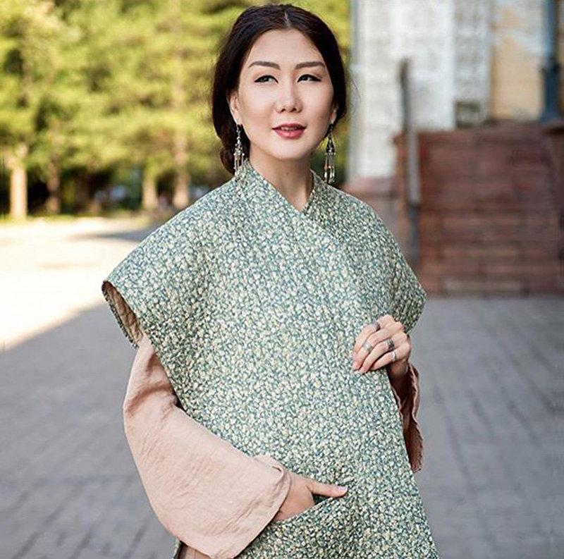 Кыргызстанская эстрадная певица Каныкей. Архивное фото
