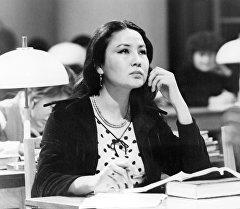 Актриса Таттыбүбү Турсунбаева. Архивдик сүрөт