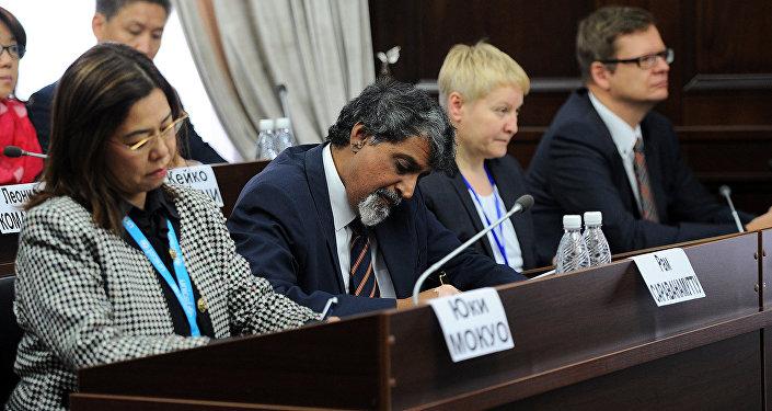 Делегация членов Исполнительного совета ООН впервые прибыла в Кыргызстан