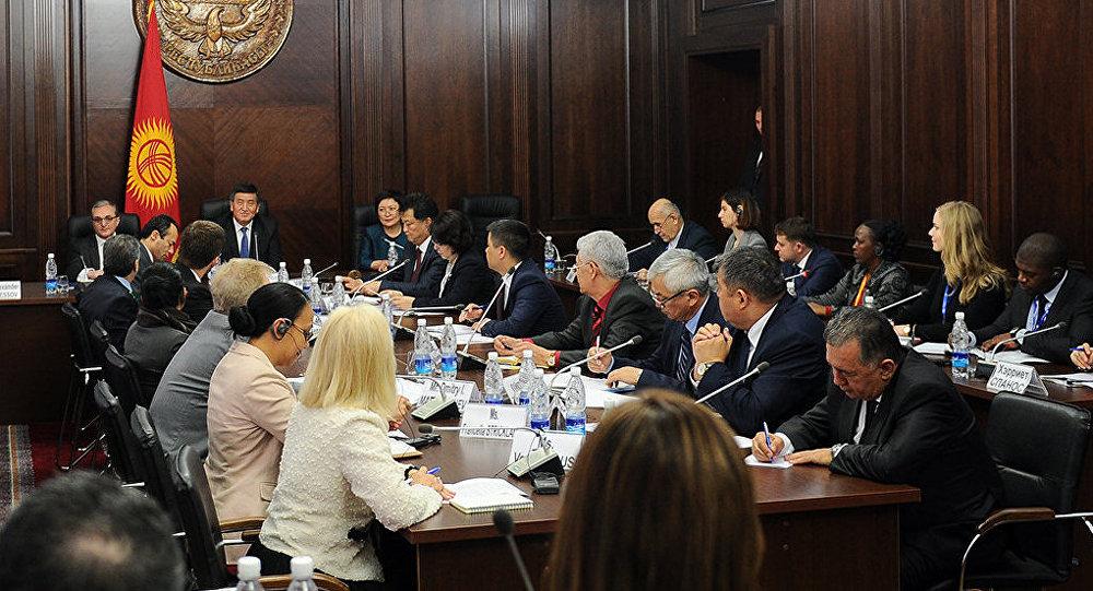 Визит делегации Исполнительных советов ООН в Бишкек
