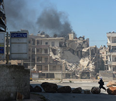 Алеппо шаарындагы абал. Архив
