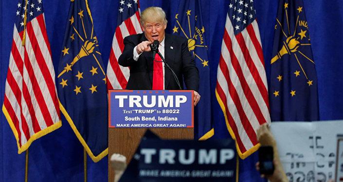 Кандидат на пост президента США от Республиканской партии Дональд Трамп. Архивное фото
