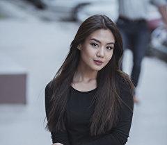 Архивное фото инстаграм-звезды Кыргызстана Айжан Асемовой
