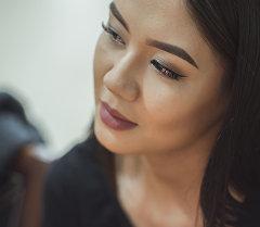 Инстаграм-звезда Айжан Асемова. Архивное фото