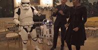 Барак и Мишель Обама станцевали с персонажами Звездных войн