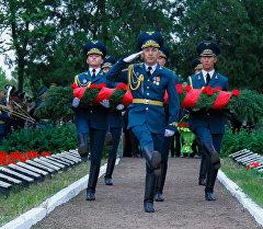 Митинг-реквием, посвященный 71-й годовщине Победы в ВОВ на Братском кладбище