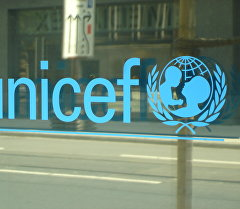 ЮНИСЕФ логотиби. Архив