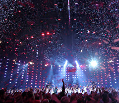Сцена Евровидения. Архивное фото