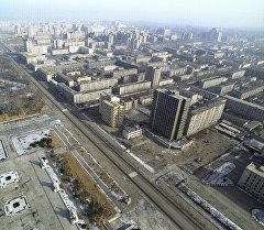 Пхеньян шаарына көрүнүш. Архив