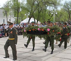 Празднование 71-й годовщины Победы в ВОВ в Нарыне