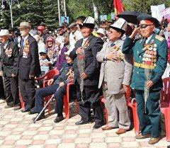Празднование 71-й годовщины Победы в ВОВ в Иссык-кульской области