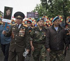 Бишкектеги Өлбөс полк акциясы. Архивдик сүрөт