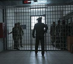 Сотрудники ГСИН на спецкомплексе для осужденных. Архивное фото