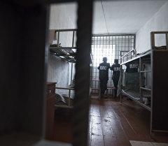 Спецкомплекс для осужденных на пожизненное лишение свободы в исправительной колонии №19 в Сокулукском районе