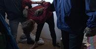 Кадры задержания террориста-вербовщика Хизб ут-Тахрир аль-Ислами в Москве