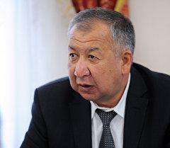 Өзгөчө кырдаалдар министри Кубатбек Боронов. Архив