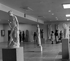 Экспонаты в музее изобразительных искусств имени Гапара Айтиева. Архивное фото