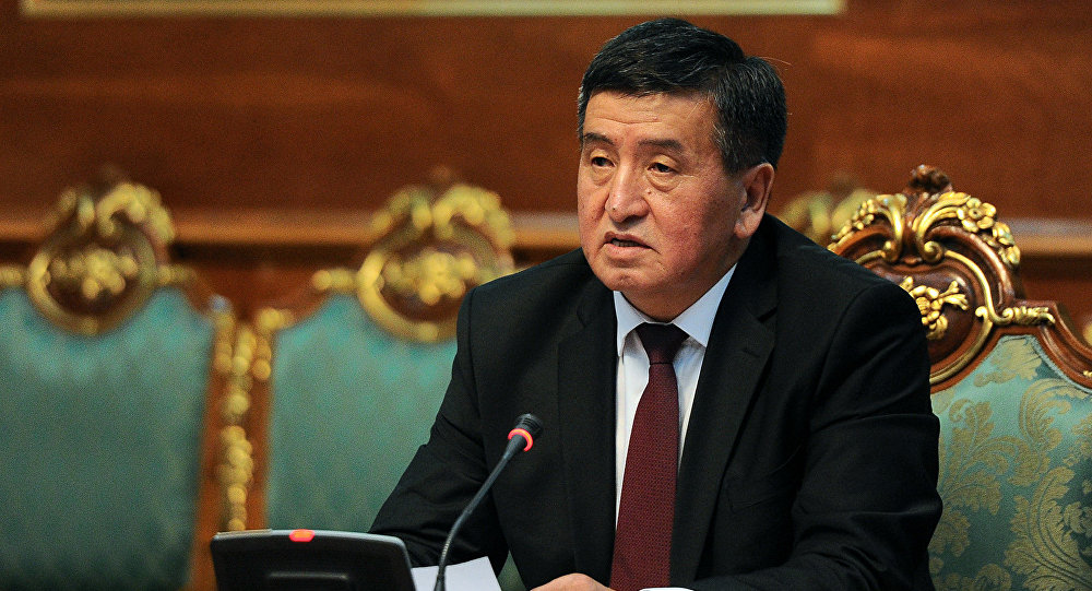 Президент Кыргызстана вылетел вДушанбе