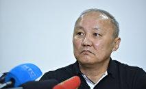 Архивное фото экс-мэра Бишкека Наримана Тюлеева