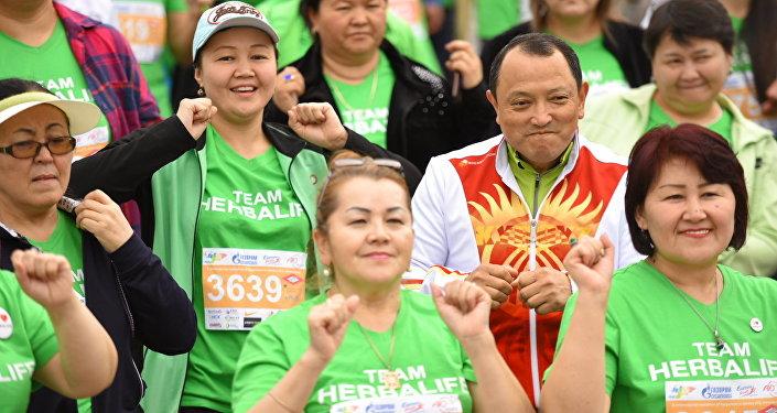 Пятый международный марафон Run The Silk Road в Чолпон-Ате