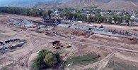 Строительство ипподрома на Иссык-Куле завершено на 70% — аэросъемка