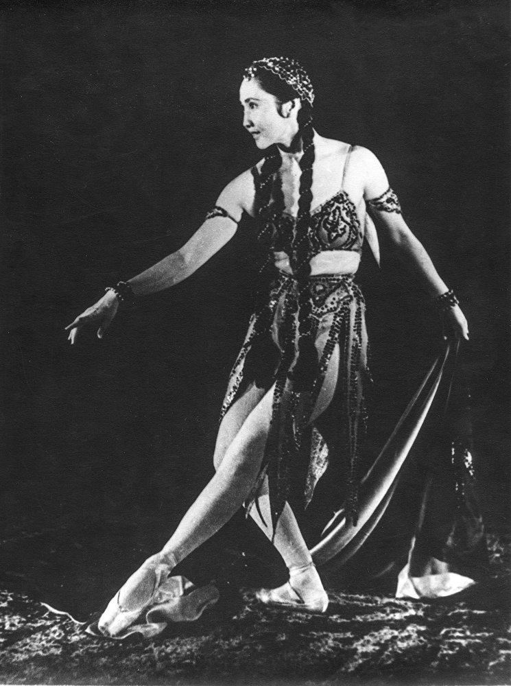 Кадр из фильма о балерине