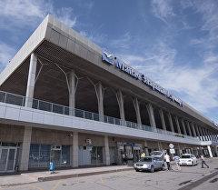 Манас эл аралык аэропорту. Архив