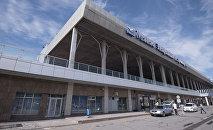 Здание Международного аэропорта Манас в Чуйской области. Архивное фото