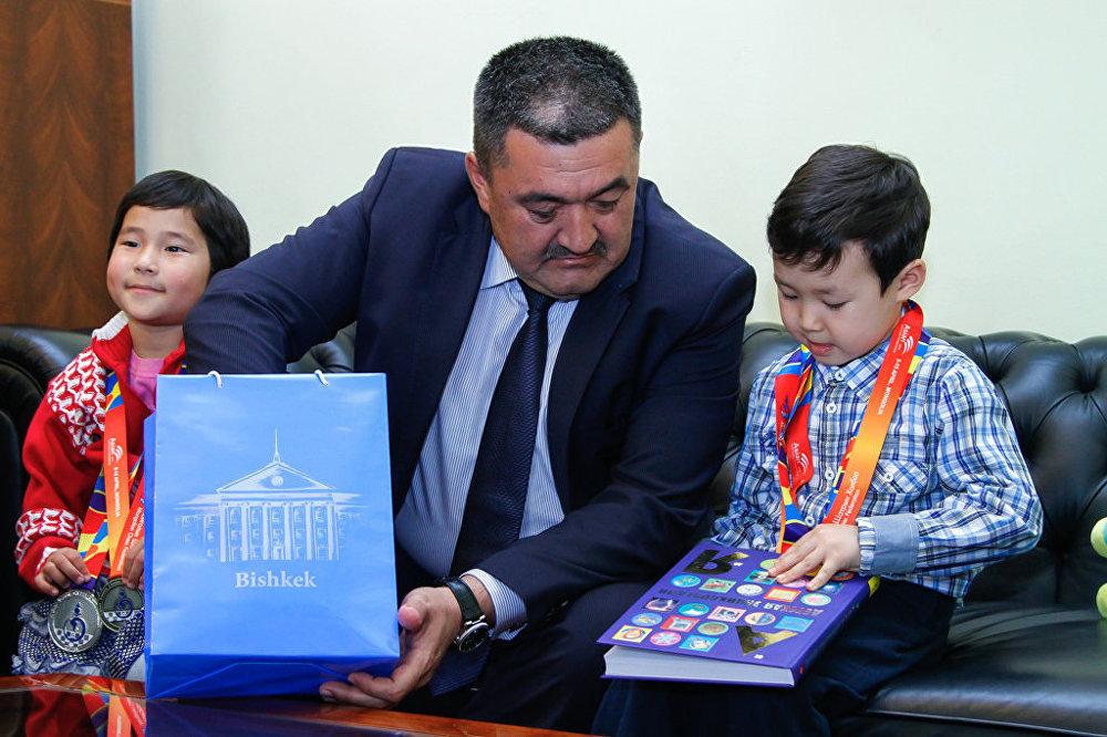 Чемпионате Азии по шахматам для детей до 6-ти лет в Улан-Баторе