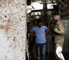 Теракт на рынке на севере Багдада