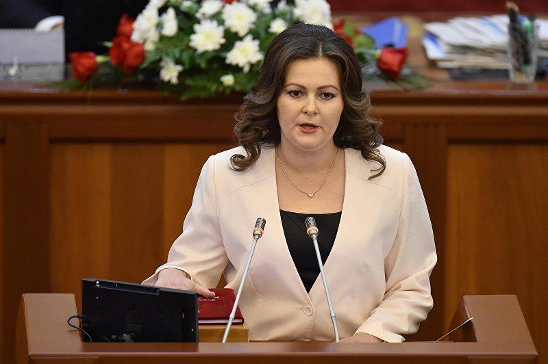Депутат Жогорку Кенеша от фракции Ата Мекен Наталья Никитенко. Архивное фото