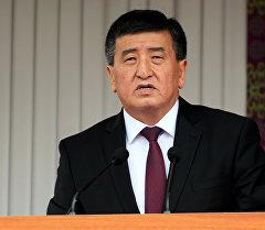 Президенттикке талапкер Сооронбай Жээнбековдун архивдик сүрөтү