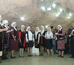 В Национальном архитектурном музейном комплексе Сулайман-Тоо состоялась акция Ночь в музее.