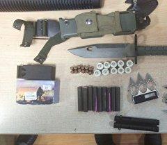 В четверг пограничники на пункте пропуска Акжол-автодорожный обнаружили оружие у гражданина Казахстана