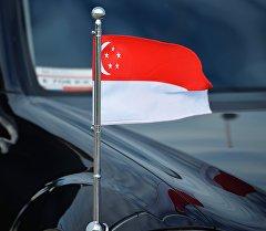 Сингапур республикасынын желеги. Архив