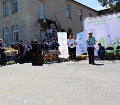 Бишкекте Улуттук илимдер академиясынын Ботаникалык багынын кайра жаралуусуна багытталган фестиваль
