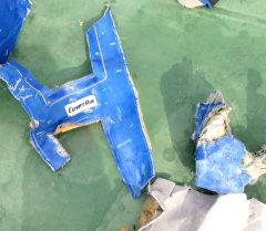 Египетские военные обнародовали видеозапись фрагментов разбившегося MS804