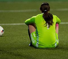Футболистка. Архивное фото