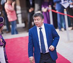 Архивное фото депутата ЖК 6 созыва Алмамбета Шыкмаматова