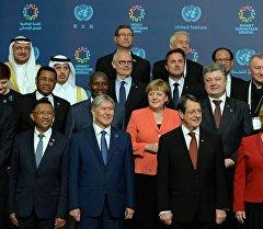 Главы государств на первом Всемирном гуманитарном саммите в Стамбуле
