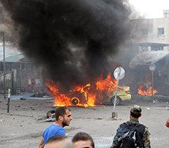 Сириянын Тартус шаарындагы жарылуу