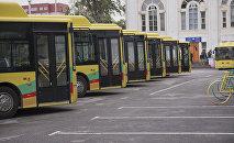 Новые автобусы. Архивное фото