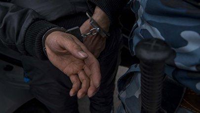 Арест подозреваемого