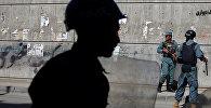 Афганистандын полиция кызматкерлери. Архив