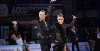 Танцевальная пара Семеренко Артем и Качалко Валерия из Кыргызстана. Архивное фото