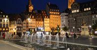 Площадь Клебер в Страсбурге. Архивное фото