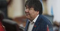 Жогорку Кеңештин депутаты Садык Шер-Нияздын архивдик сүрөтү