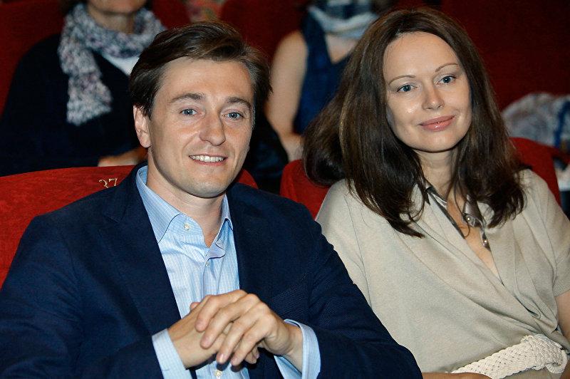 Сергей Безруков с супругой Ириной Безруковой